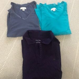 Calvin Klein Shirt Bundle Size Small